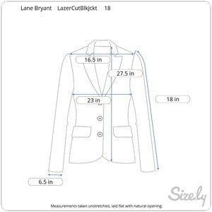 Lane Bryant Sweaters - Lane Bryant • Laser Cut Vegan Leather Cardigan